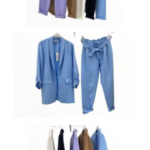 Pantalone Tailleur Donna Coordinato
