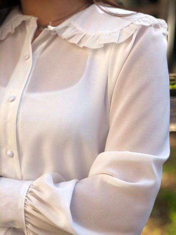 camicetta con colletto