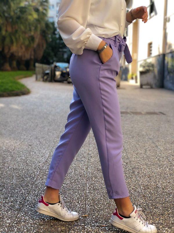 pantalone caramella coordinato